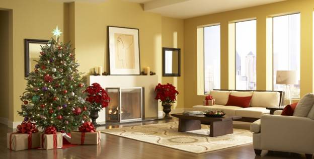 Decorazioni natalizie 6 idee per arredare casa a natale for Xmas room design