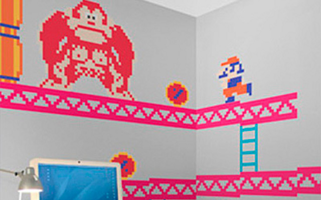 sticker-super-mario-donkey-kong